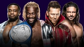 SmackDown Tag Team Champions The New Day vs. The Miz & John Morrison