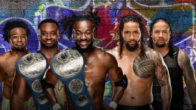 SmackDown Tag Team Champions The New Day vs The Usos