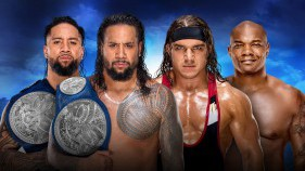 SmackDown Tag Team Champions The Usos vs Chad Gable et Shelton Benjamin