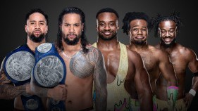 SmackDown Tag Team Champions The Usos vs The New Day