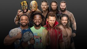 Affiche du SmackDown Tag Team Championship Fatal 4-Way Match à Money In The Bank 2020
