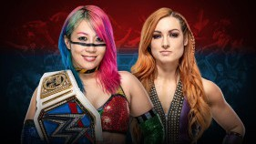 SmackDown Women's Champion Asuka vs Becky Lynch