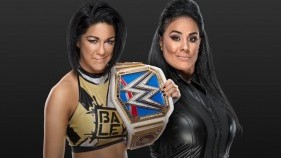 Affiche du SmackDown Women's Champion Bayley vs. Tamina à Money In The Bank 2020
