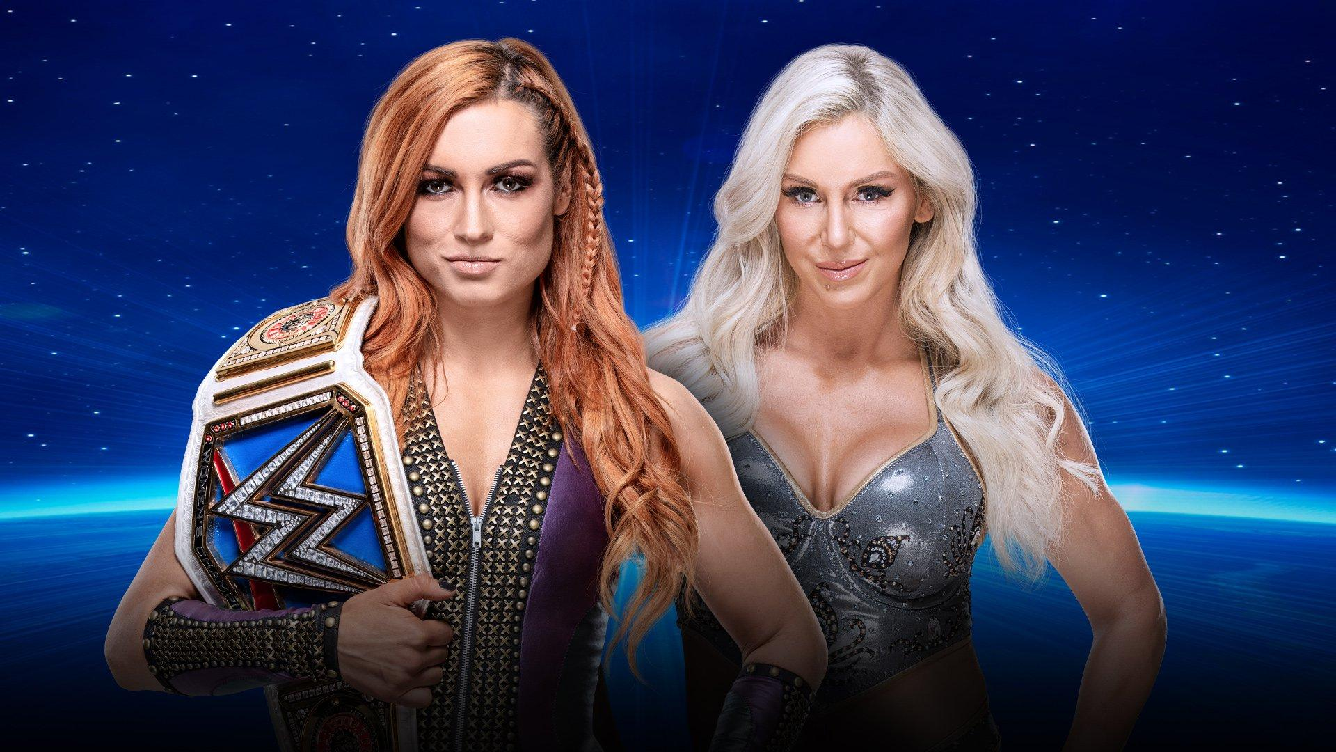 SmackDown Women's Champion Becky Lynch vs Charlotte Flair - Last Woman Standing Match