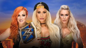 SmackDown Women's Champion Carmella vs Charlotte Flair vs Becky Lynch