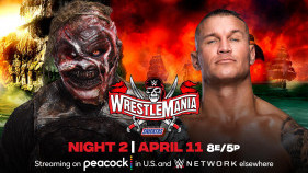 Affiche du The Fiend Bray Wyatt vs. Randy Orton à WrestleMania 37 (2021)