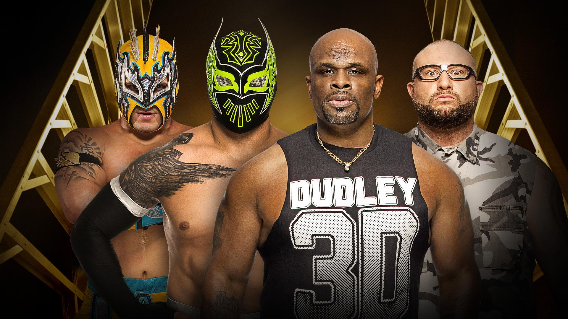 The Lucha Dragons vs The Dudley Boyz (Kickoff Match)