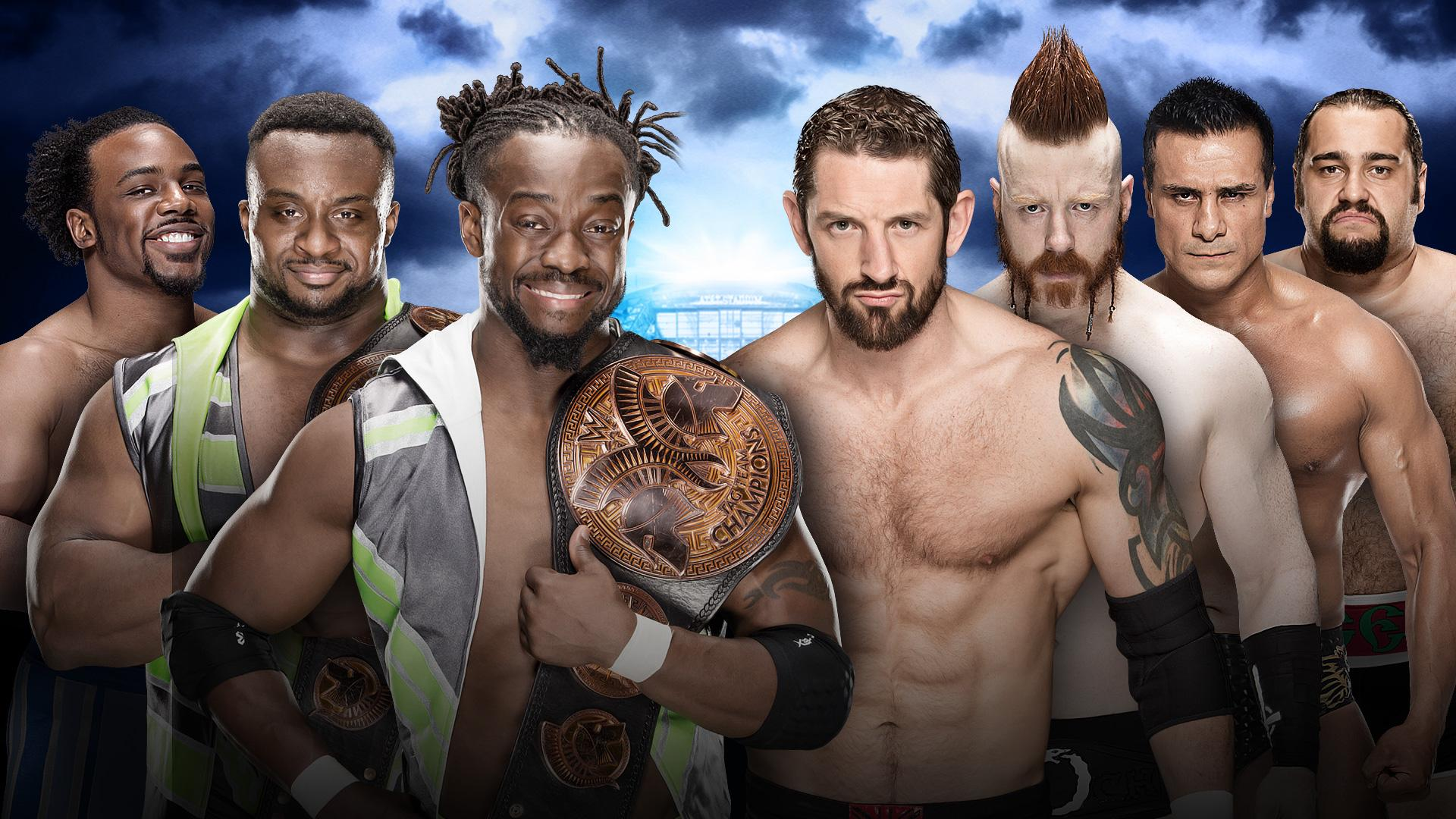 The New Day vs The League of Nations