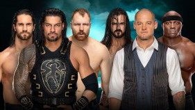 The Shield vs Baron Corbin, Drew McIntyre et Bobby Lashley