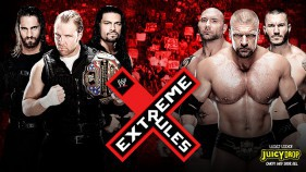 Affiche du The Shield vs Evolution à Extreme Rules 2014