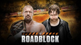 Affiche du Triple H vs Dean Ambrose WWE World Heavyweight Championship match à Roadblock 2016