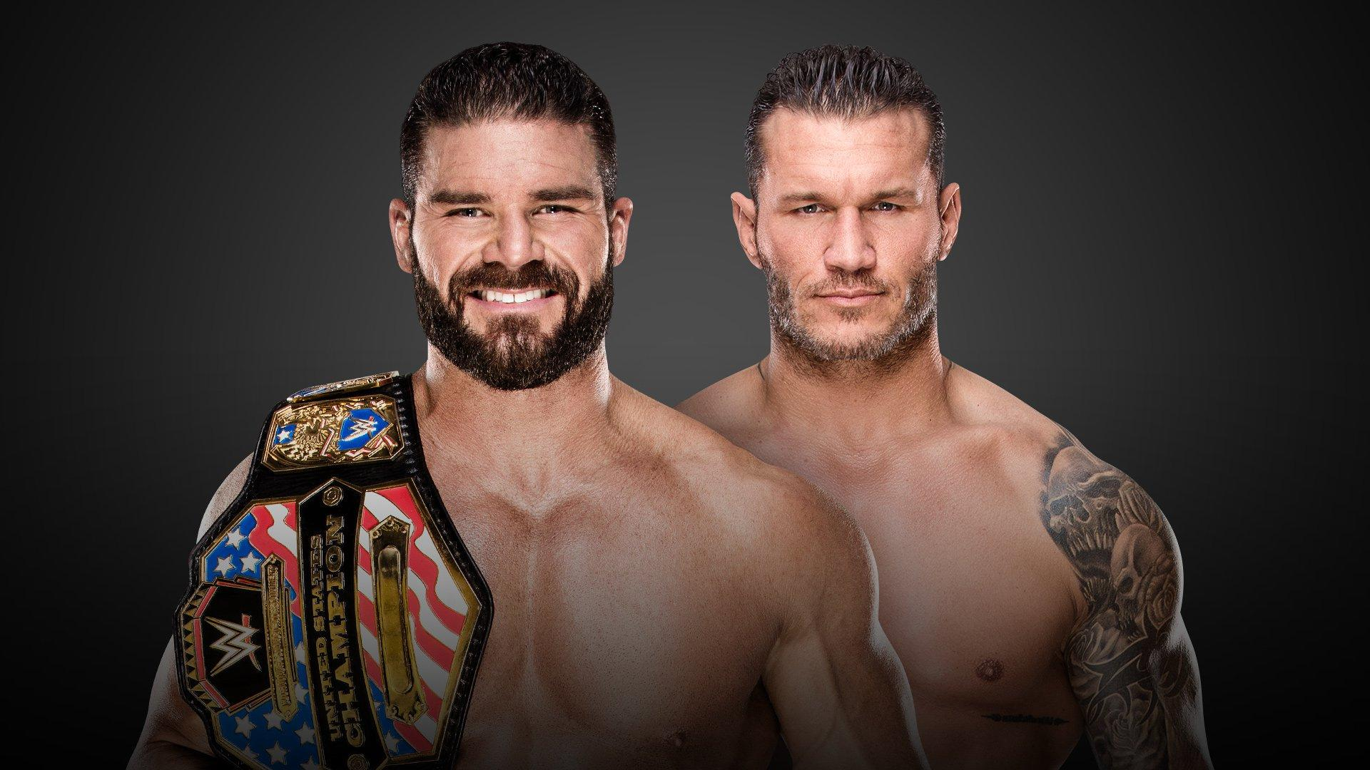 United States Champion Bobby Roode vs Randy Orton