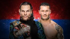 United States Champion Jeff Hardy vs Randy Orton