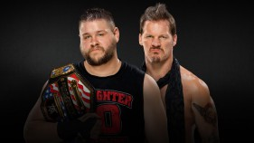 United States Champion Kevin Owens vs Chris Jericho