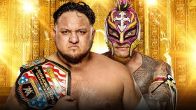 United States Champion Samoa Joe vs Rey Mysterio