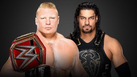 Universal Champion Brock Lesnar vs Roman Reigns