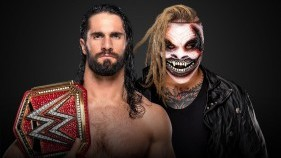 "Universal Champion Seth Rollins vs. ""The Fiend"" Bray Wyatt (Hell in a Cell Match)"