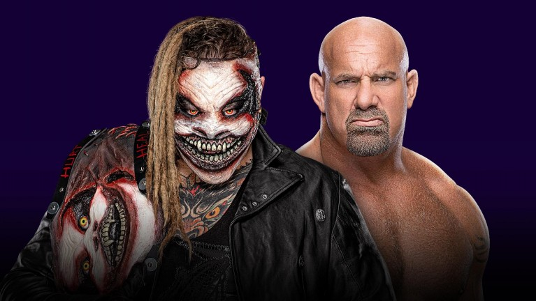 "Universal Champion ""The Fiend"" Bray Wyatt vs. Goldberg"