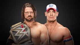 WWE Champion AJ Styles vs John Cena
