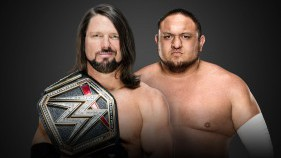 WWE Champion AJ Styles vs Samoa Joe