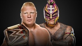 WWE Champion Brock Lesnar vs. Rey Mysterio