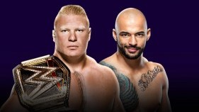 WWE Champion Brock Lesnar vs. Ricochet