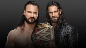 Affiche du WWE Champion Drew McIntyre vs. Seth Rollins à Money In The Bank 2020