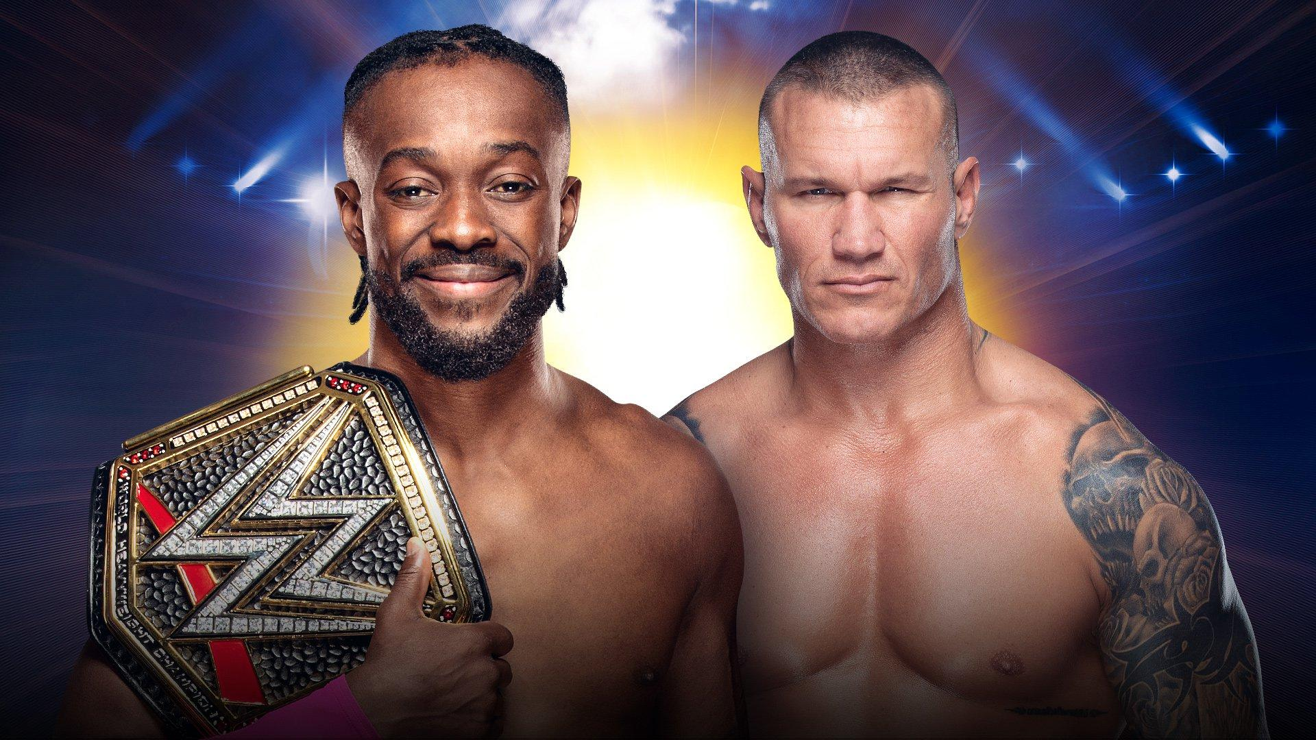 WWE Champion Kofi Kingston vs Randy Orton