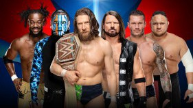 WWE Champion Elimination Chamber match