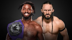 WWE Cruiserweight Champion Rich Swann vs Neville