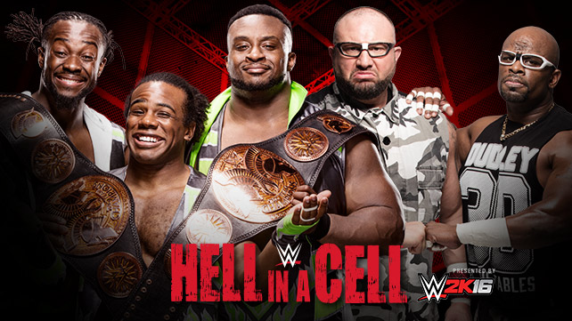 WWE Tag Team Champions The New Day vs The Dudley Boyz