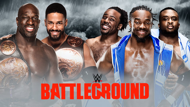 WWE Tag Team Champions The Prime Time Players vs The New Day