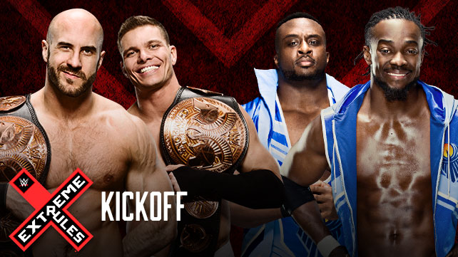 WWE Tag Team Champions Tyson Kidd et Cesaro vs The New Day