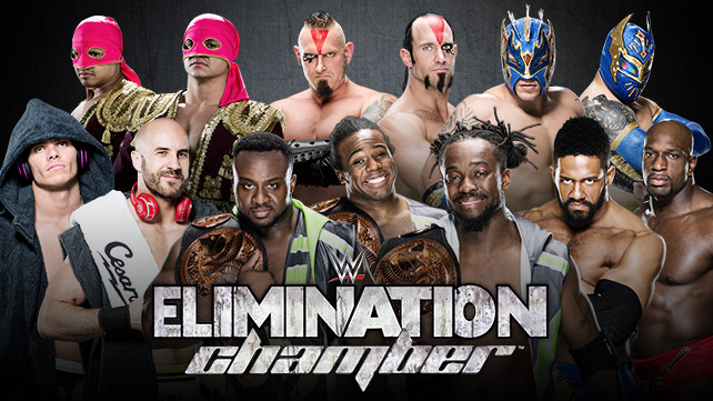 WWE Tag Team Championship Elimination Chamber Match