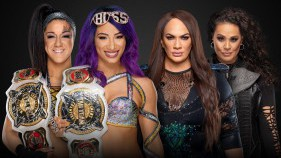 WWE Women's Tag Team Champions Sasha Banks et Bayley vs Nia Jax et Tamina