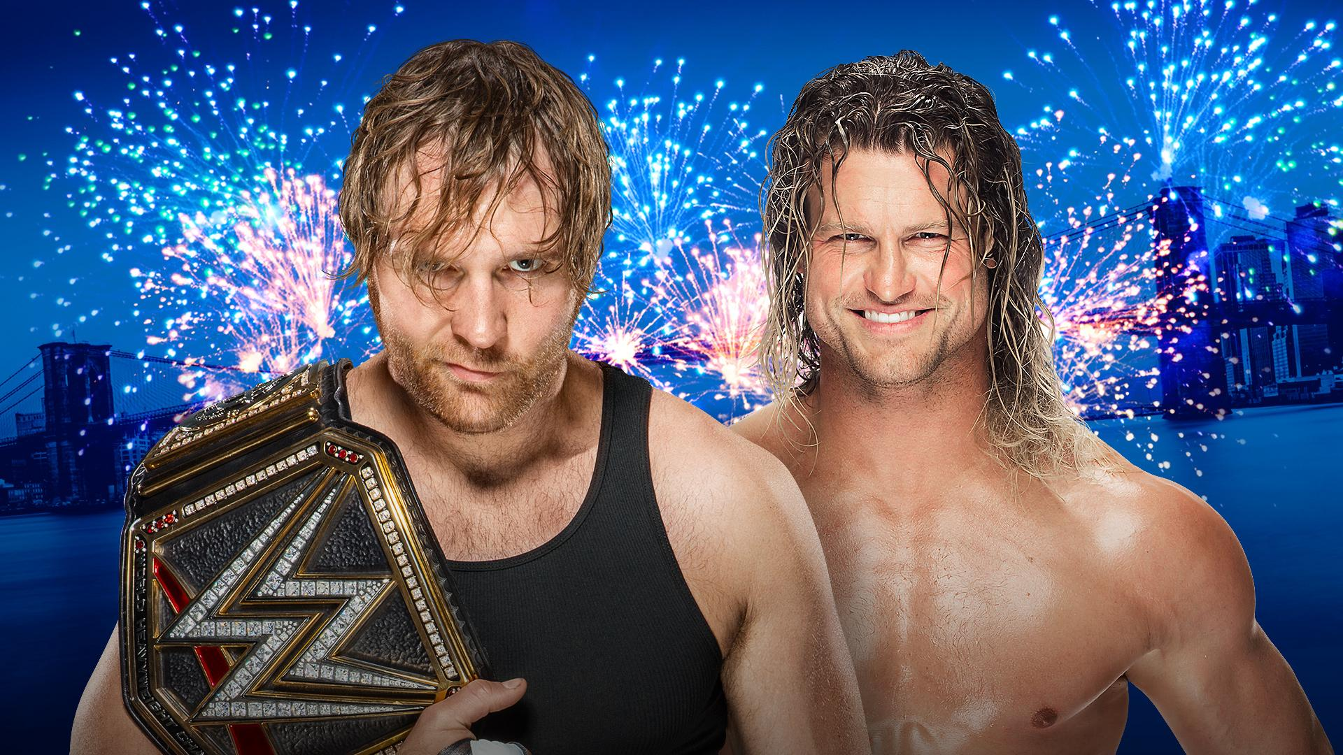 WWE World Champion Dean Ambrose vs Dolph Ziggler