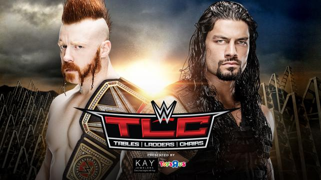 WWE World Heavyweight Champion Sheamus vs Roman Reigns