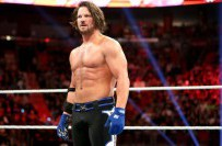 AJ Styles après son match contre Chris Jericho