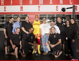 Hulk Hogan au WWE Performance Center