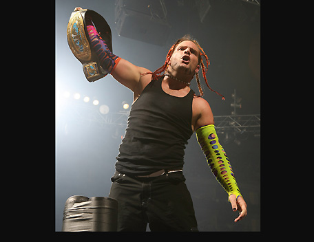 Jeff Hardy intercontinental champion