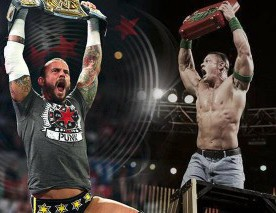 John Cena, The Rock et CM Punk