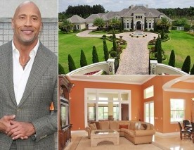La maison de Dwayne Johnson (The Rock)