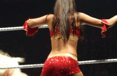 Nikki Bella à Paris
