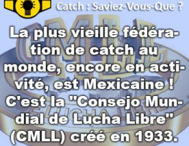 Plus vieille fédération de catch active