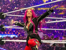 Sasha Banks à WrestleMania 32