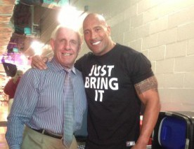 The Rock et Ric Flair