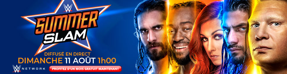 WWE SummerSlam en direct