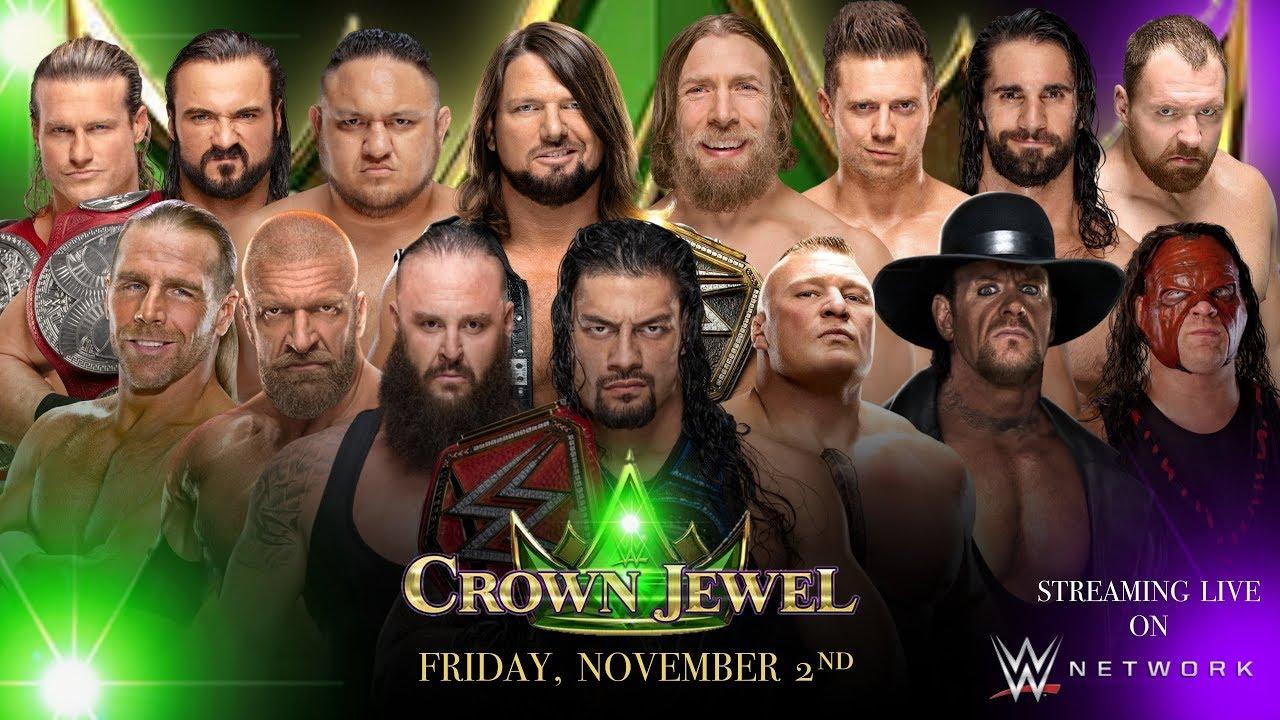 Crown Jewel 2018 poster
