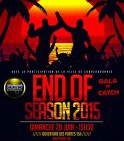 END OF SEASON 2015