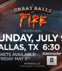 Great balls of fire 2017